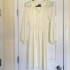 ASOS cream-colored dress